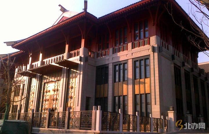 天洋运河壹号大楼入口